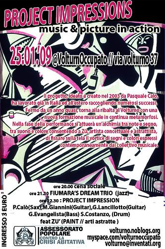 flyer concerto 25 gennaio